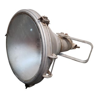 1930s Crouse-Hinds United States Navy Spotlight, Made in New York For Sale