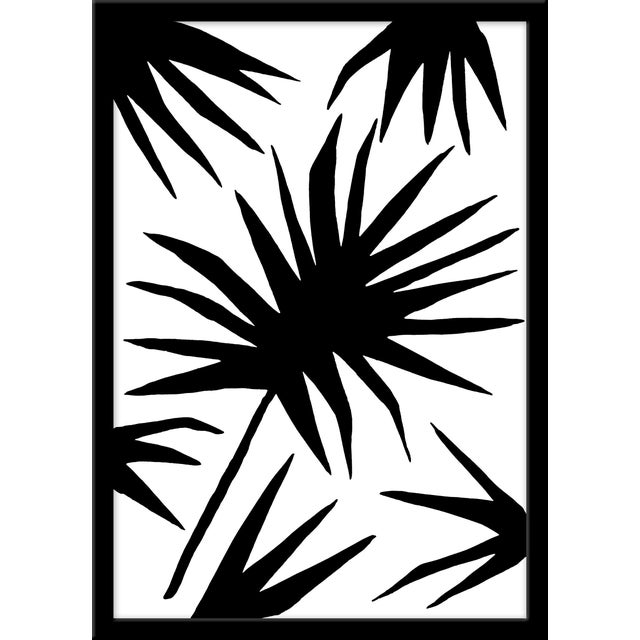 """Medium """"Palm Two"""" Print by Kate Roebuck, 18"""" X 25"""" For Sale"""