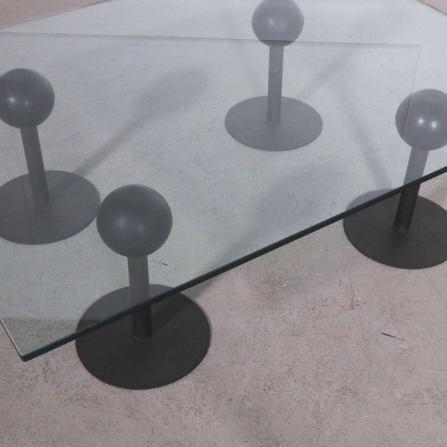 Philippe Starck 1982 France Philippe Starck Coffee Table for Les Trois Suisses Coffee Table For Sale - Image 4 of 6