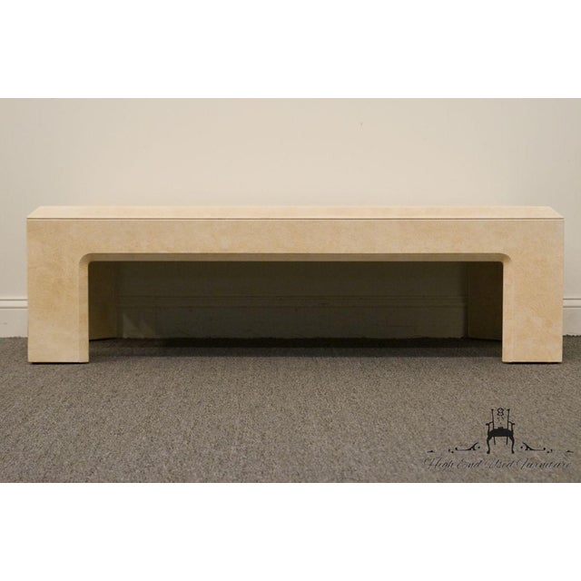"""Lane Furniture Contemporary Style 54"""" Coffee Table For Sale In Kansas City - Image 6 of 13"""