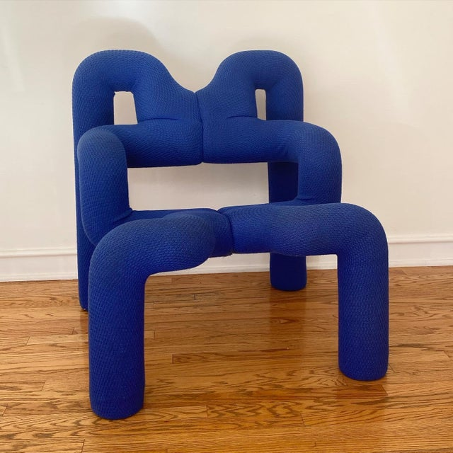 an Ekstrem chair - need I say more. Other than this is authentique Terje made in Norway 1984 (not a reproduction) - some...