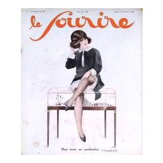 """M. Pepin 1926 """"Pour Tenter Un Cambrioleur"""" Le Sourire Cover Print"""