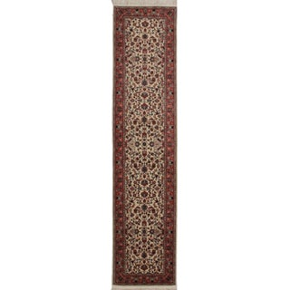 Persian Hand Knotted Wool Rug - 2′6″ × 11′ For Sale