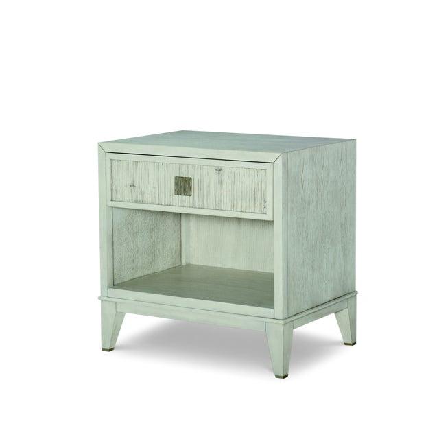 Century Furniture Century Furniture Carlyle 1 Drawer Nightstand, Peninsula Finish For Sale - Image 4 of 4