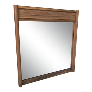 1980s Large Mid-Century Modern Mirror For Sale