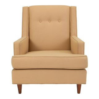 """Dunbar's High Back """"Mr."""" Lounge Chair by Edward Wormley For Sale"""