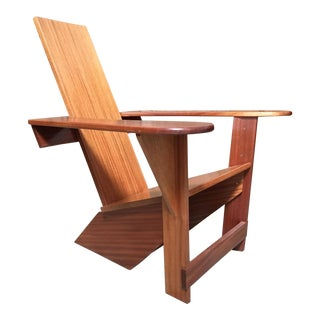 Westport Adirondack Lounge Chair For Sale