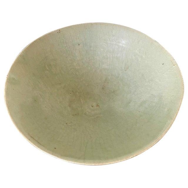 Celadon Ceramic Tea Bowl Korean Goryeo Dynasty For Sale - Image 13 of 13