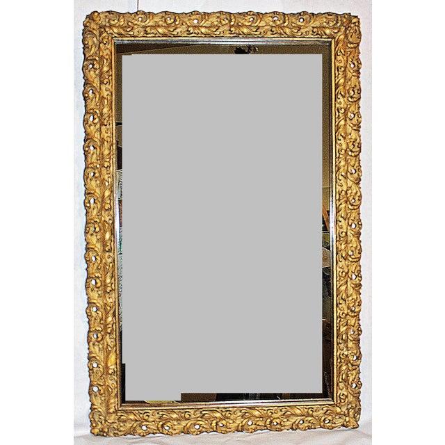 Antique American Gilt Mirror - Image 2 of 4
