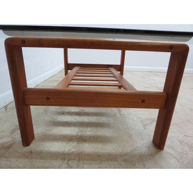 Danish Modern S. Burchardt Nielsen Floating Coffee Table For Sale - Image 4 of 6