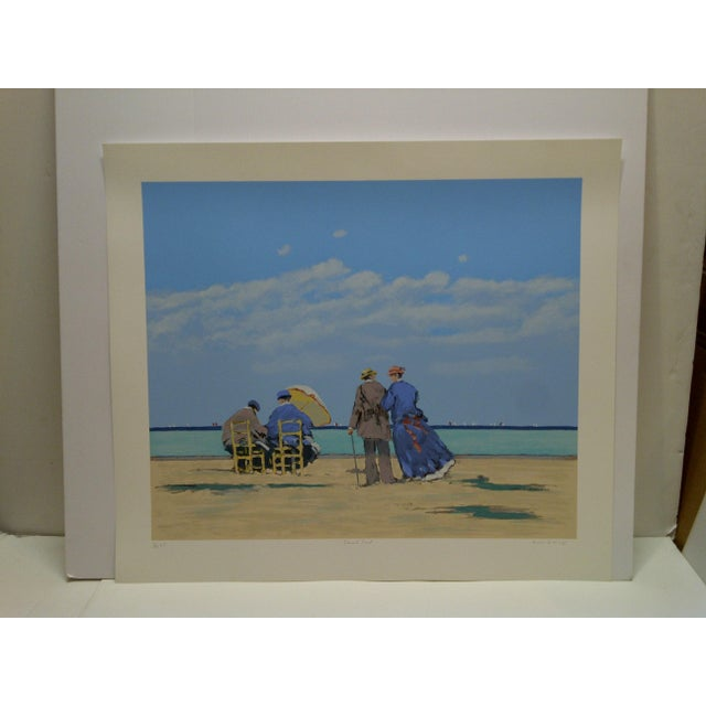 """This is a Limited Edition Signed Numbered (33/40) Print Artists Proof -- Titled """"Emerald Coast"""" By Frederick McDuff --..."""