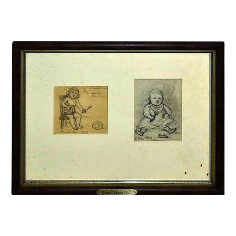John Cranch Children Drawings For Sale