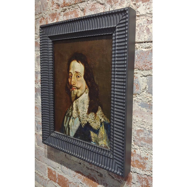 Portrait of a Spanish Gentleman 17th/18th Century Oil Painting For Sale In Los Angeles - Image 6 of 9