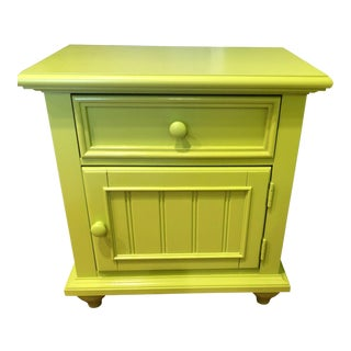 Stanley Michaels Lime Green Table For Sale