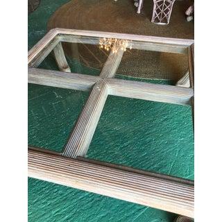 Vintage Ming Split Rattan Coffee Table Preview
