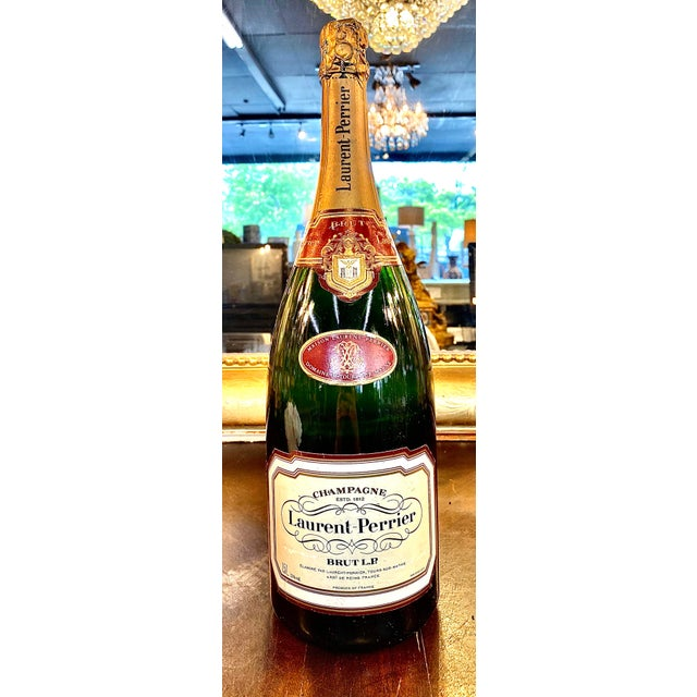 Late 20th Century Late 20th Century French Laurent-Perrier Champagne Specimen Bottle For Sale - Image 5 of 5