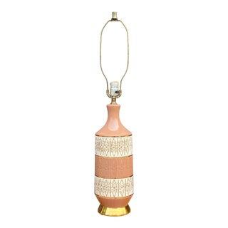 Mid-Century Modern Ceramic Lamp For Sale