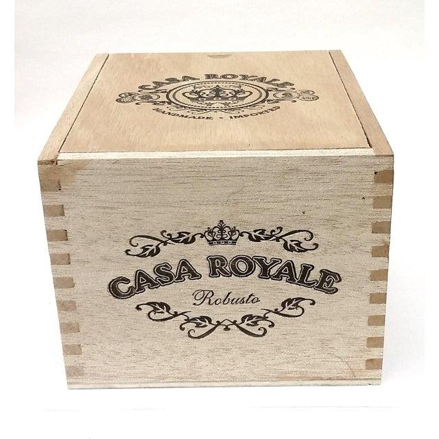Vintage Cigar Jewelry Box - Image 2 of 10