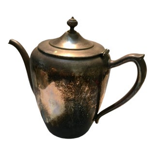 F.B. Rogers Silver on Copper Coffee Tea Pot For Sale
