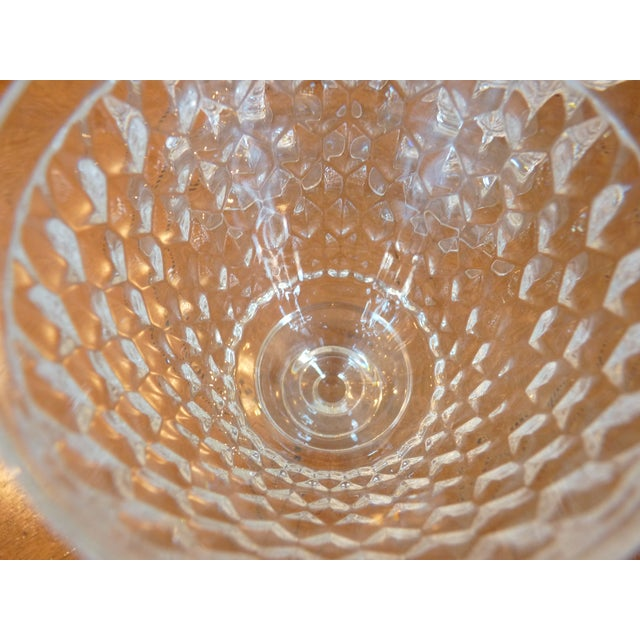 Multi Faceted Crystal Water Goblets - 6 - Image 7 of 7