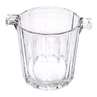 Vintage Petite Glass Ice Bucket
