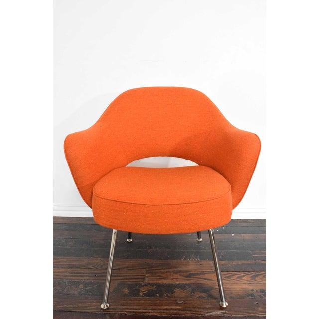 Metal Knoll Eero Saarinen Executive Armchair For Sale - Image 7 of 10