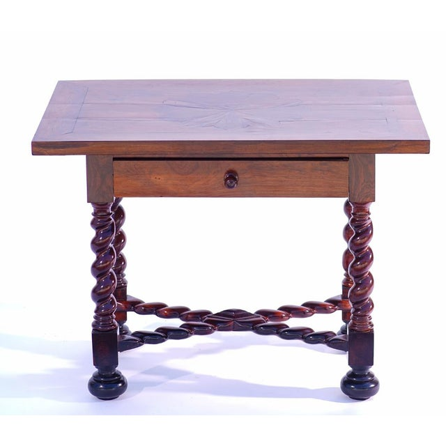 19th Century 19th C. Portuguese Rosewood Table For Sale - Image 5 of 5