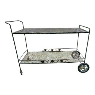 Russell Woodard Sculptura Bar Cart