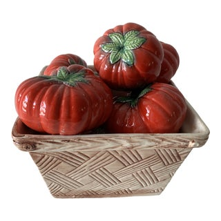 Tromp L'Oeil Tomato Basket For Sale