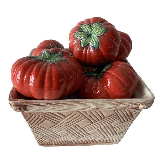 Tromp L'Oeil Tomato Basket For Sale