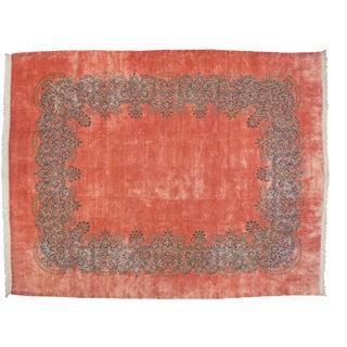 "Vintage Kerman Carpet - 11'3"" X 14'2"" For Sale"