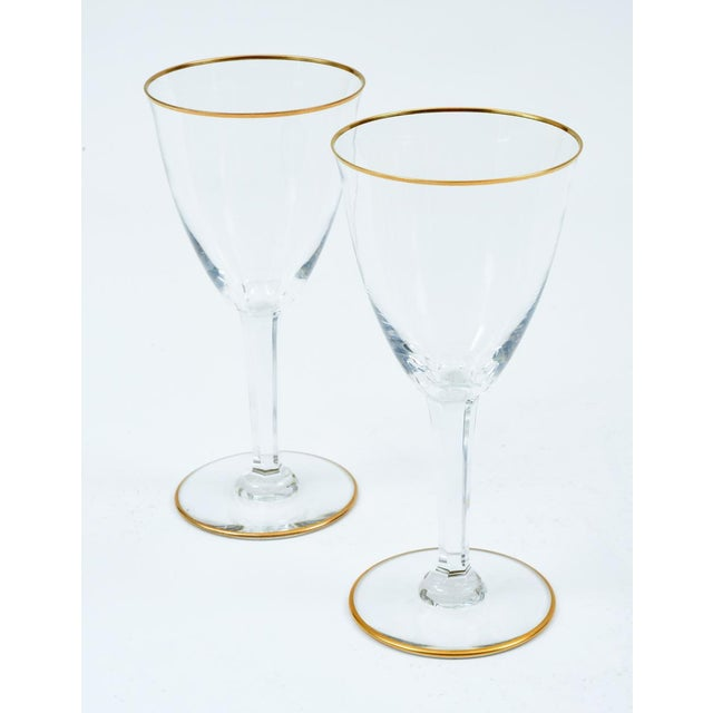 Crystal Baccarat Crystal Barware / Tableware Glassware - Set for 8 For Sale - Image 7 of 11
