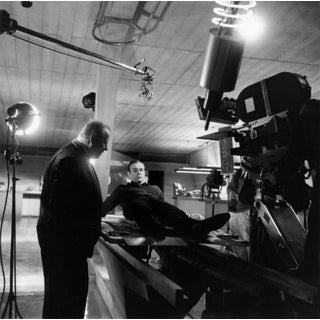 """1964 Sean Connery Behind the Scenes of """"Goldfinger"""" (11x14 Print) For Sale"""