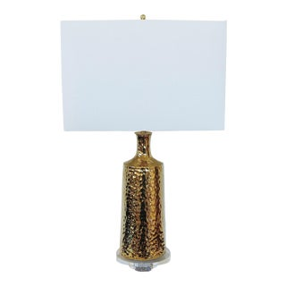Gold Plated Ceramic Custom Lamp