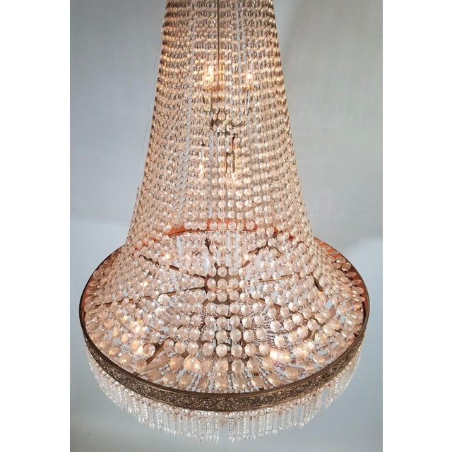 1920s Circa 1920 French Empire Style Chandelier For Sale - Image 5 of 6