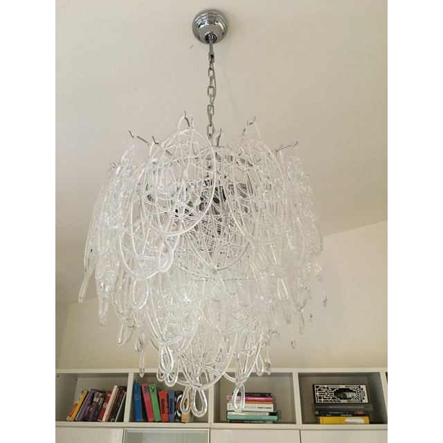 Contemporary Contemporary Murano Glass Triedo Sputnik Chandelier For Sale - Image 3 of 8