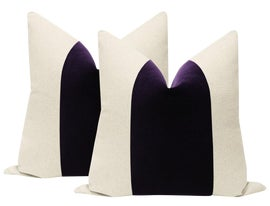 Image of Amethyst Pillows