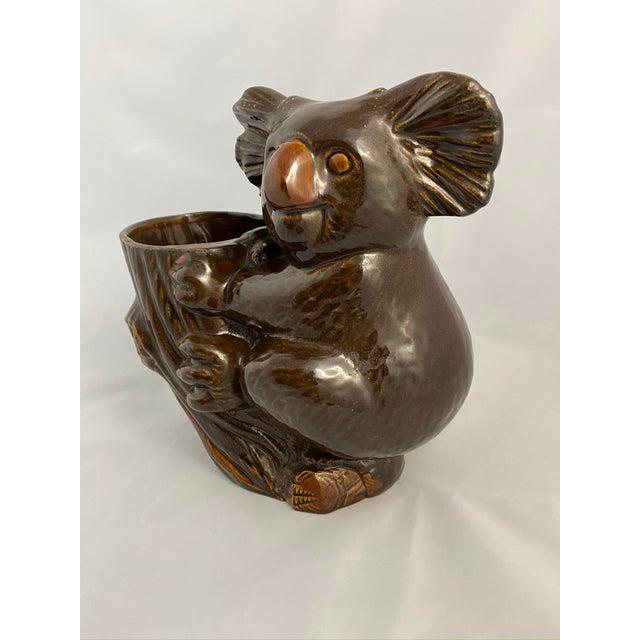 Haeger Koala Planter Brown For Sale In Chicago - Image 6 of 13