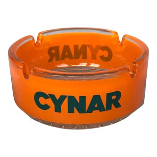 Vintage 1960s Cynar Advertising Ashtray For Sale