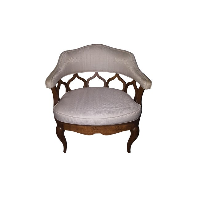 Vintage Barrel Back Chairs - Pair - Image 2 of 8