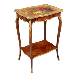 French Louis XV Style Side Table For Sale