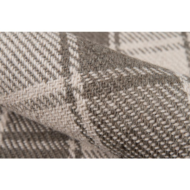 """Erin Gates by Momeni Marlborough Charles Grey Hand Woven Wool Area Rug - 3'6"""" X 5'6"""" For Sale - Image 4 of 8"""