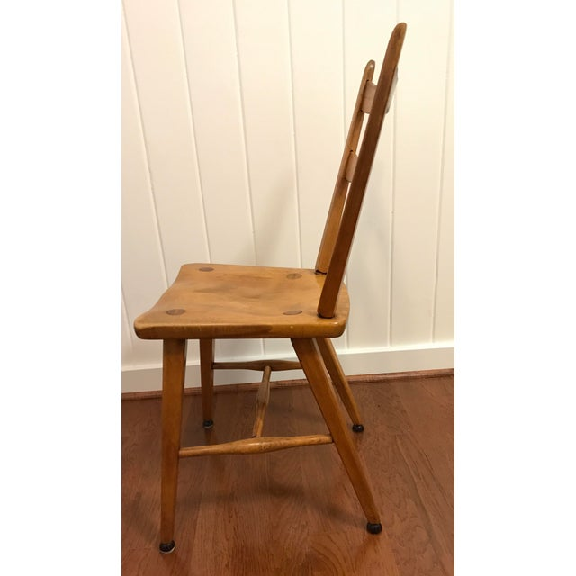 Mid Century Cushman Birch Solid Wood Chair For Sale In Dallas - Image 6 of 10
