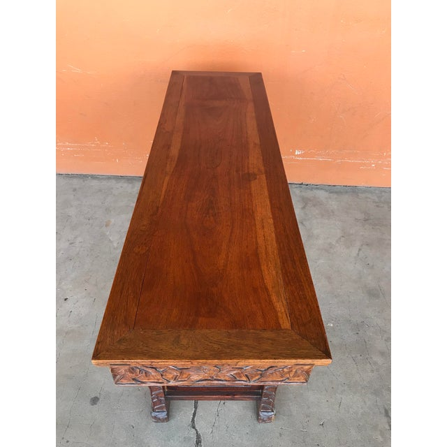Chinese Carved Altar Table For Sale - Image 4 of 10