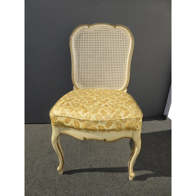 Thomasville French Cane Dining Chairs - Set of 6 For Sale - Image 9 of 11