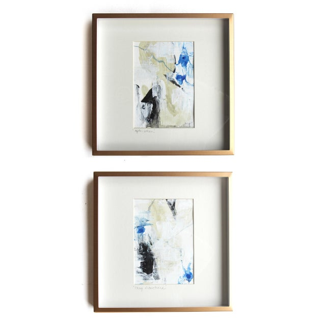 Abstract They Disentwine Framed Painting - Image 6 of 6