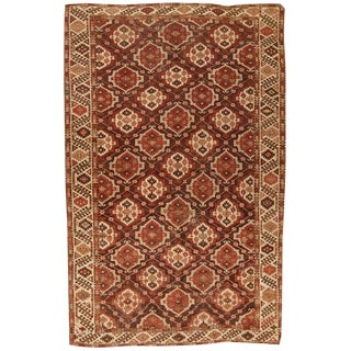 Antique 19th Century Chodor Rug For Sale