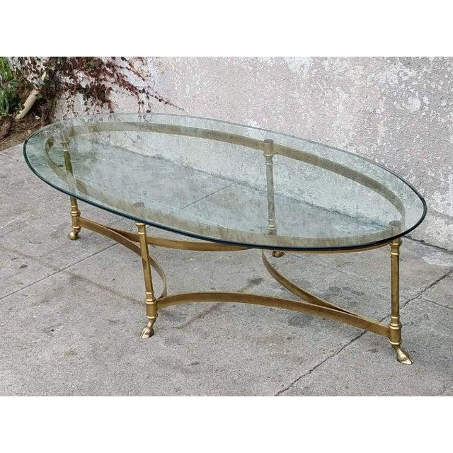 Vintage La Barge Oval Coffee Table Chairish