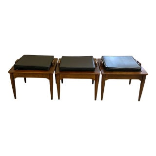 Mid-Century Modern Bassett Modular End/Coffee Table Set - 3 Pieces For Sale