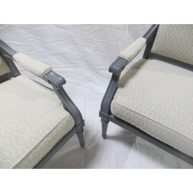 French Directoire Side Chairs - A Pair For Sale - Image 9 of 11